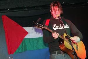 Styrktartónleikar fyrir öryrkja í Palestínu 2005